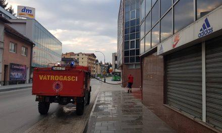Kiseljak: Dezinfekcija