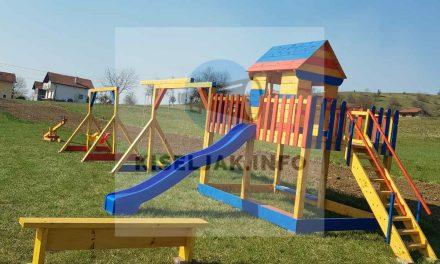 Općina Kiseljak: Izgrađeno igralište u naseljenom mjestu Gomionica / Implementirano pod projektom Participativni proračun