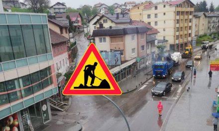 Obavijest o radovima u ulici Bana Josipa Jelačića Kiseljak