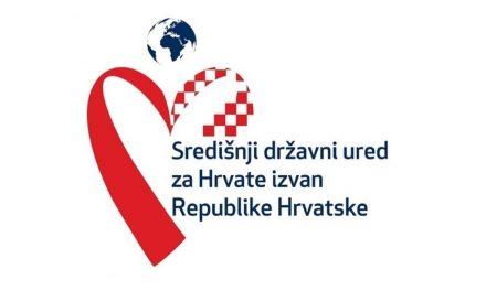 Središnji državni ured za Hrvate izvan Republike Hrvatske donio je Odluku o dodjeli financijske potpore za posebne potrebe i projekte od interesa za Hrvate izvan Republike Hrvatske za 2020. godinu.
