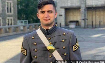 Adis Poško je prvi kadet iz BiH koji je diplomirao na najstarijoj američkoj vojnoj akademiji