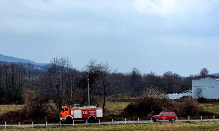 Brestovsko: U tijeku gašenje požara u Krčevinama