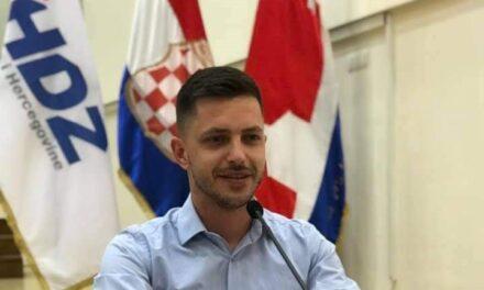 JEDNOGLASNA PODRŠKA: MATE LONČAR KANDIDAT ŽZH ZA PREDSJEDNIKA MLADEŽI HDZ BiH