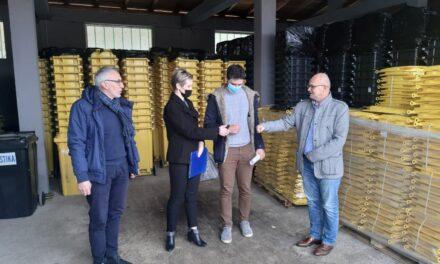 JP Vodovod i kanalizacija: Isporuka kanti za reciklažni otpad