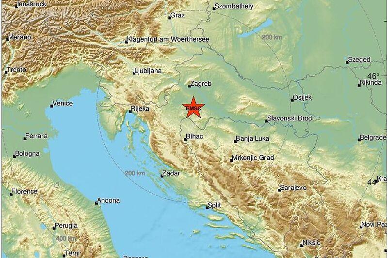 Novi potres pogodio Hrvatsku, osjetio se i na sjeverozapadu BiH