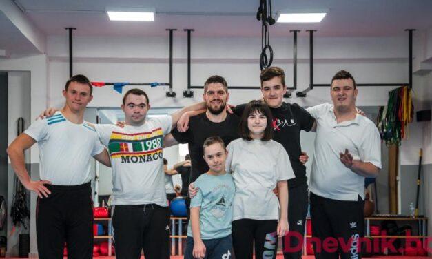 PREKRASNA GESTA 'No limit' Kiseljak održava treninge za korisnike centra 'Duga'