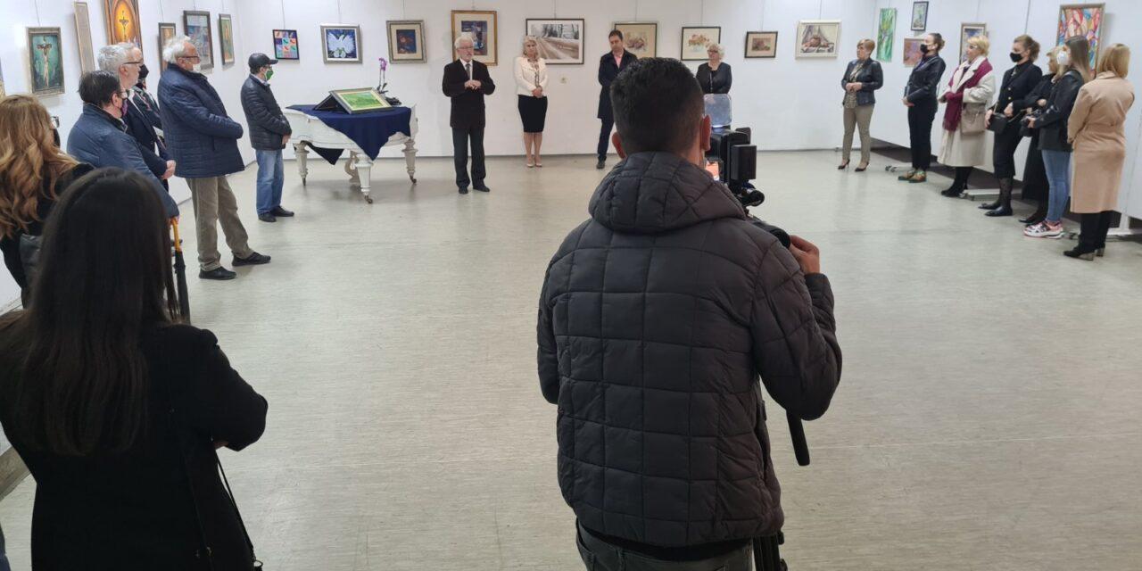 """Kiseljak: Izložba """"Umjetnici za Sekulu Dugandžića"""""""
