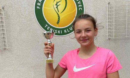 Teniski turnir u Čakovcu: Ela Čiča osvojila 2.mjesto