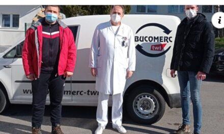 Kompanija Bucomerc TWI donirala posteljine Bolnici za plućne bolesti i TBC