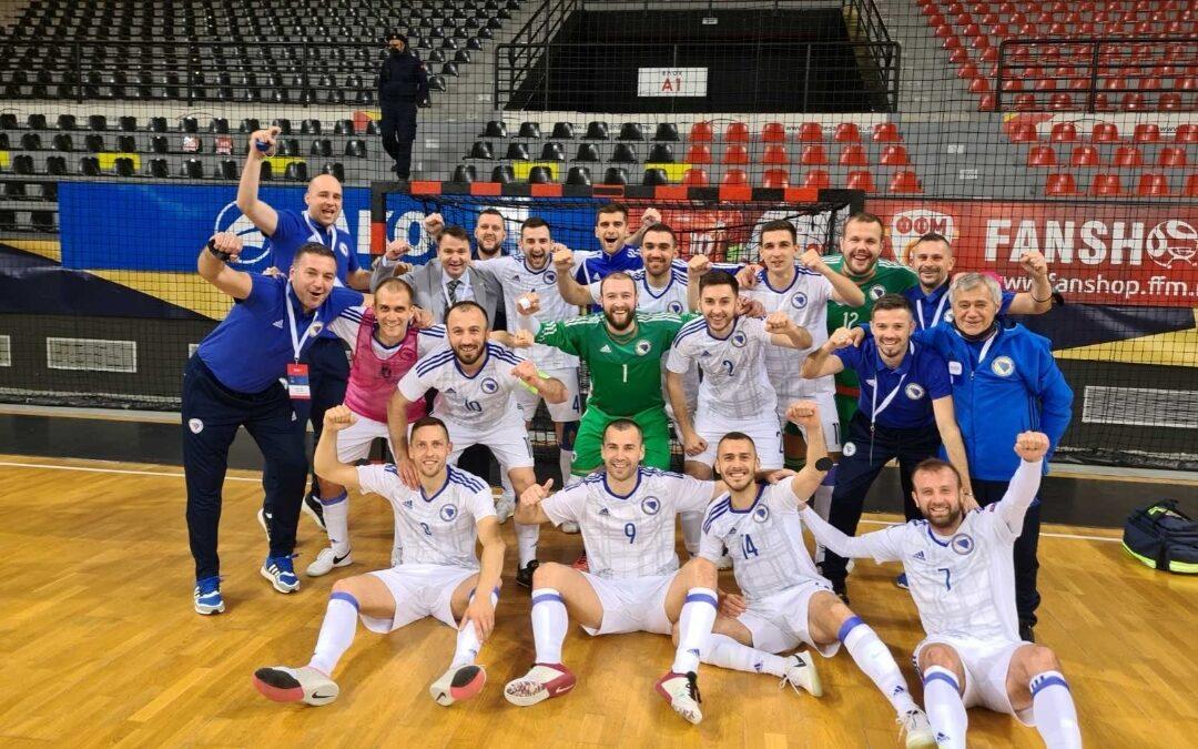 Futsal reprezentacija BiH zauzima 8. mjesto na UEFA rang listi