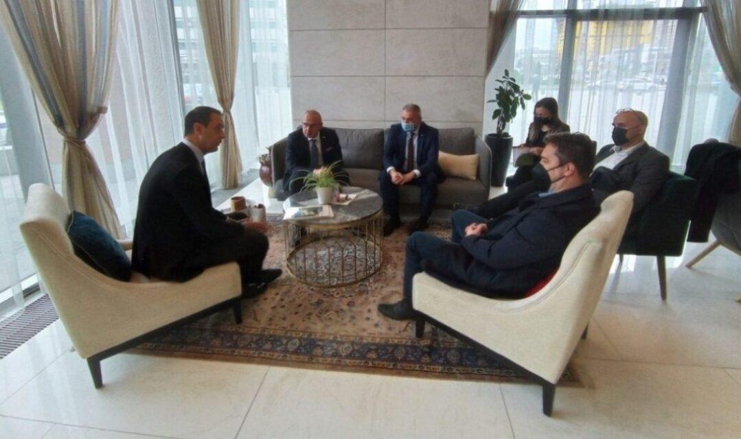Ministar Grlić Radman sastao se s izaslanstvom Središnje uprave Hrvatskog kulturnog društva Napredak