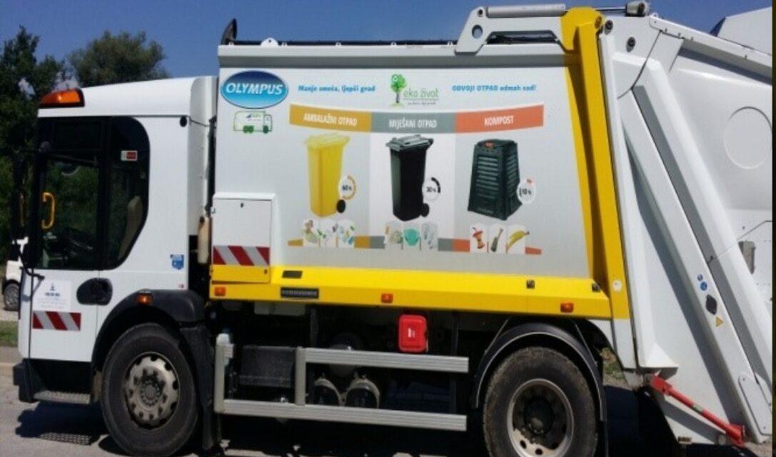 Novi raspored odvoza komunalnog otpada na području općine Kiseljak