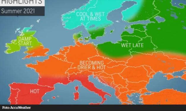 Dugoročna prognoza za Europu: Čeka nas vruće ljeto!