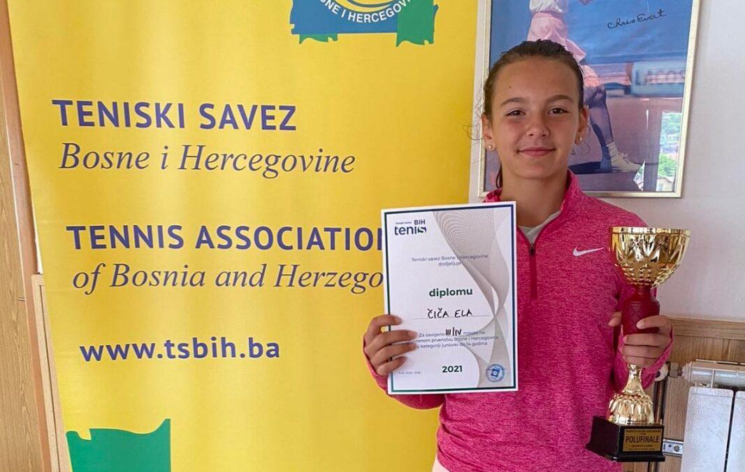 Ela Čiča nastavlja sa uspjesima na Državnom prvenstvu BiH u Tuzli