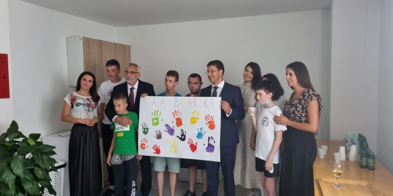 Predstavnik Veleposlanstva Bugarske u Kiseljaku – Kiseljak dobio senzornu sobu
