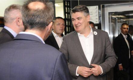 Predsjednik Republike Hrvatske Zoran Milanović stigao je danas u Vitez