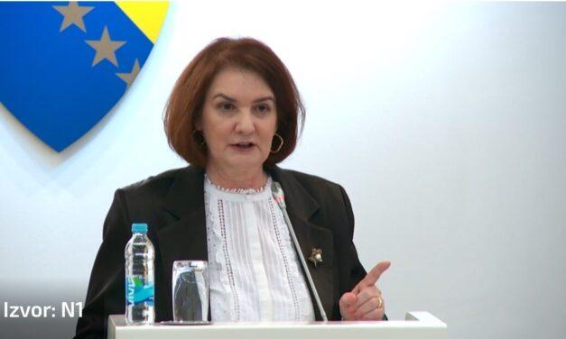 Tadić nepravomoćno razriješena dužnosti glavne tužiteljice Tužiteljstva BiH