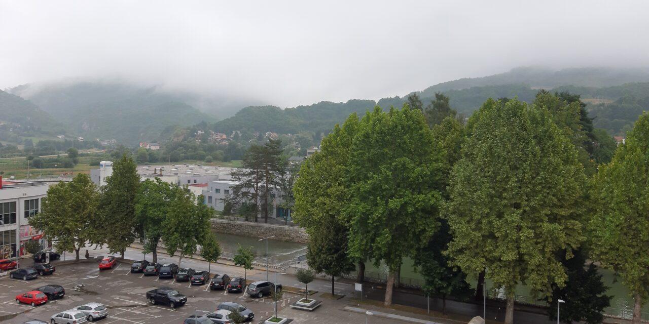 Kiša stigla u BiH, svježije i u narednim danima