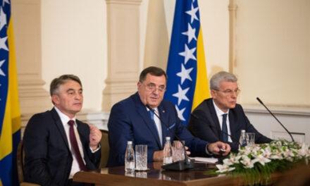 """Danas sjednica Predsjedništva BiH: Dodik rekao da će doći kako bi """"spriječio usvajanje odluka"""""""