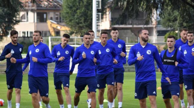 Pripreme nogometaša BiH prema planu, danas još jedan trening