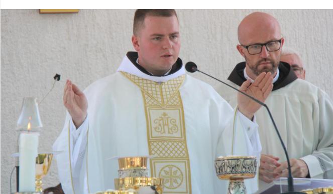 Fra Antonio Gašić proslavio mladu misu u Sivši