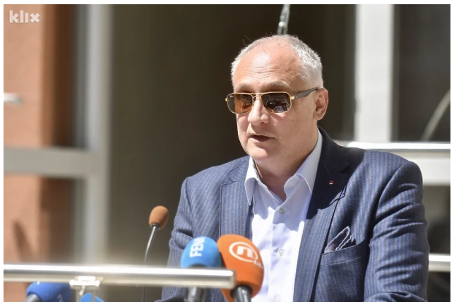 Sarajevski ministar zdravstva dobio kaznenu prijavu zbog izjave u vezi vakcinacije