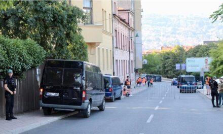 Zatvoren promet u 37 ulica glavnog bh. grada