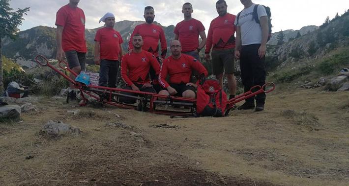 Spašena planinarka na Čvrsnici, pala je i slomila nogu