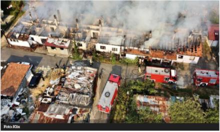 VIDEO: Pogledajte razmjere štete u Sarajevu! Izgorio cijeli stambeni kompleks