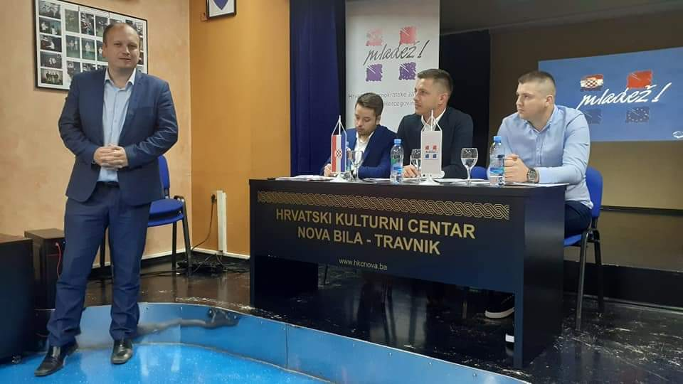 ODRŽANA TREĆA SJEDNICA PREDSJEDNIŠTVA MLADEŽI HDZ-a BiH U POVIJESNOJ NOVOJ BILOJ – TRAVNIKU