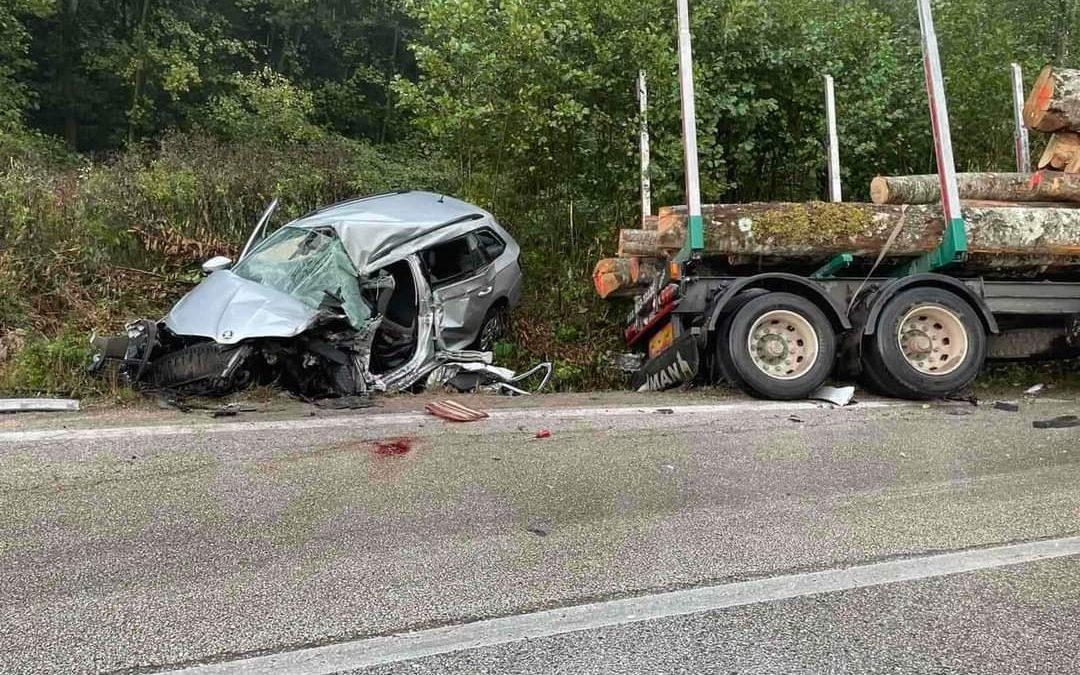 Teška prometna nesreća u Bukovcima: Sudar tri vozila
