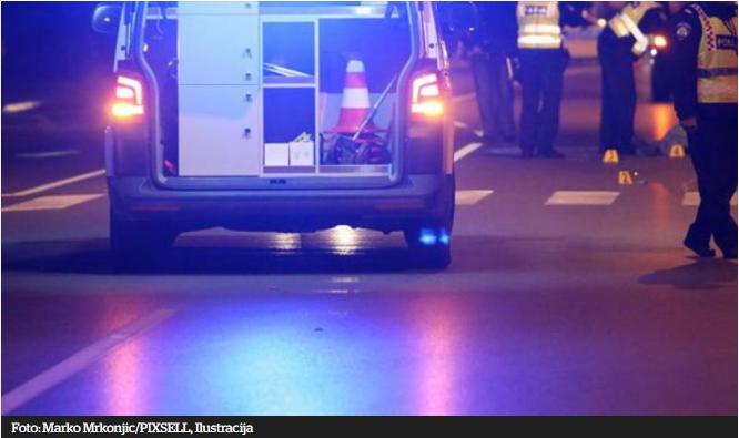 Vozilo s pet mlađih osoba udarilo u stup, zapalilo se i izgorjelo