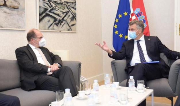 Plenković: Hrvatska je na razini EU najsnažniji zagovaratelj nastavka europskog puta BiH