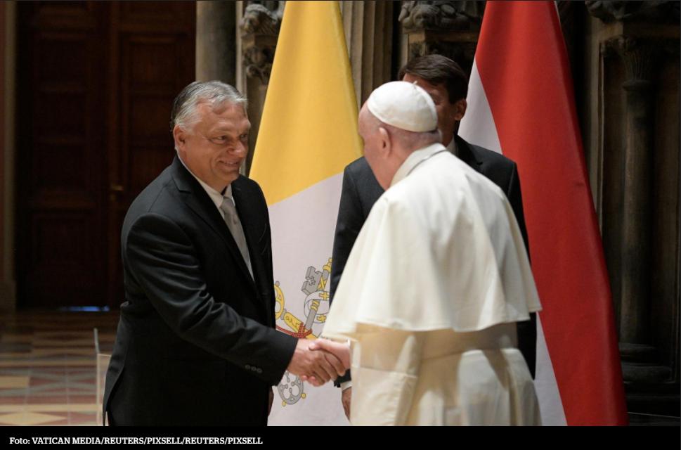Papa Franjo jasno je pokazao što misli o Orbánu i njegovoj politici