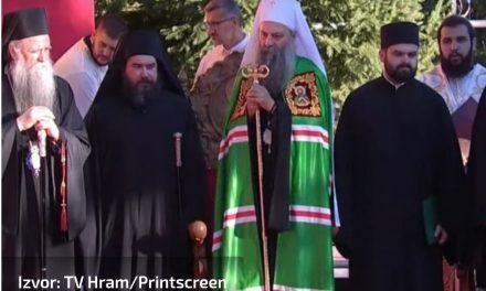 Ustoličenje episkopa Metodija u Beranama, liturgiju služi patrijarh