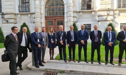 Studijska posjeta predsjedatelja svih kantonalnih sabora iz Federacije Bosne i Hercegovine Parlamentu Austrije