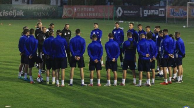 Nogometaši BiH obavili prvi trening, Petev ostao i bez Vrančića