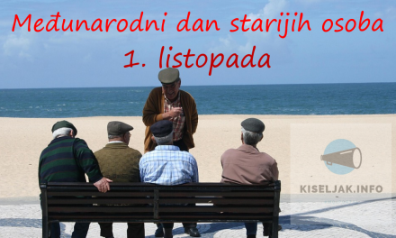 1. 10. Međunarodni dan starijih osoba