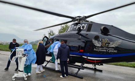 Trudnica iz Opće bolnice u Sarajevu helikopterom hitno prebačena u Zagreb